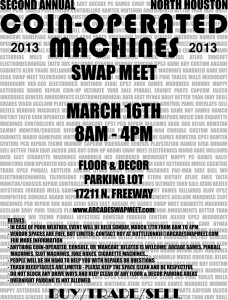 2013 Swap Meet Flyer (Light)