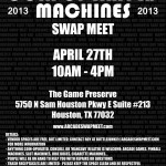 2013 Swap Meet Flyer (Dark)
